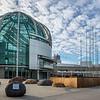 San Jose, California City Hall, Rotunda (Architect: Richard Meier)