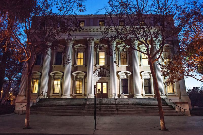 Santa Clara County Courthouse (Architect: Levi Goodrich)