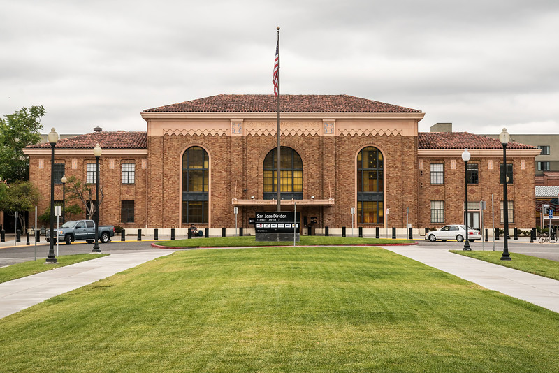 San Jose Diridon Station (Architect: John H. Christie)