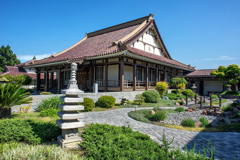 San Jose Buddhist Church Betsuin (Architect: George Shimamoto)