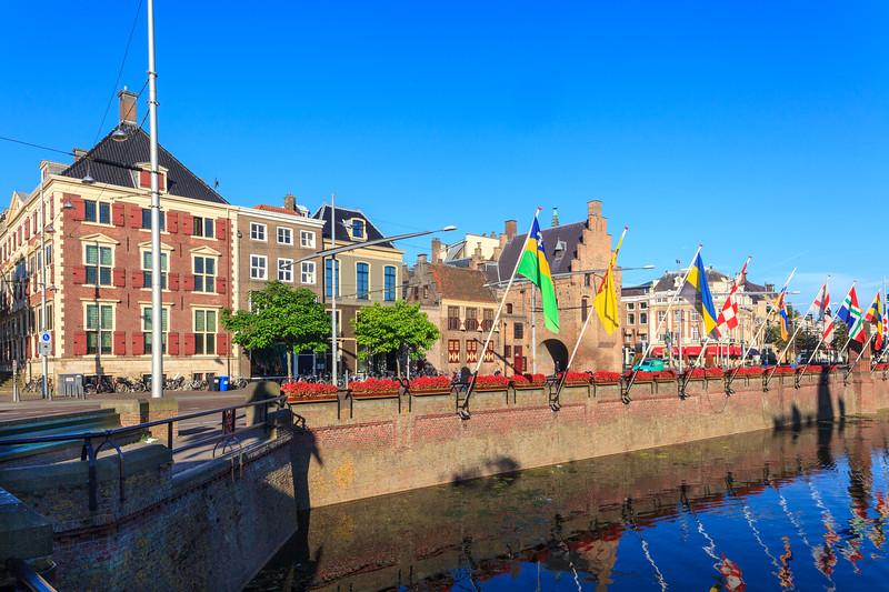 Vijverdam,  Railings & Benches - The Hague.