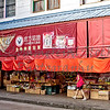 Chinatown Honolulu Hawaii King Street morning activity