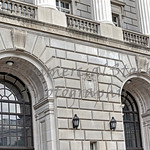 Front of Internal Revenue Service Building in Washington DC