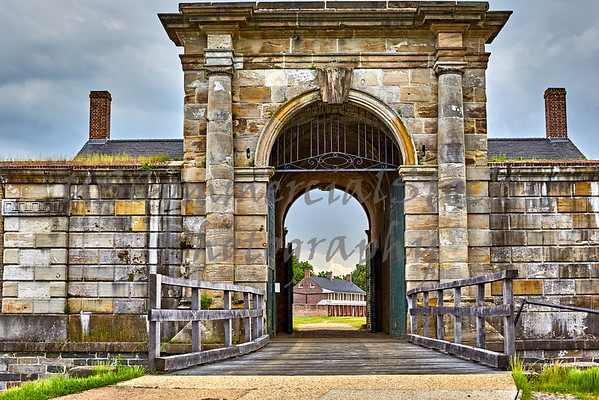Gate into Fort Washington
