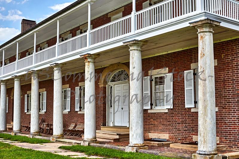 Captains Quarters at Fort Washington