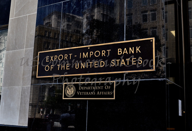Export Import Bank of the United States Building Sign