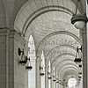 Dome Ceilings on Entrance Corridor at Union Station