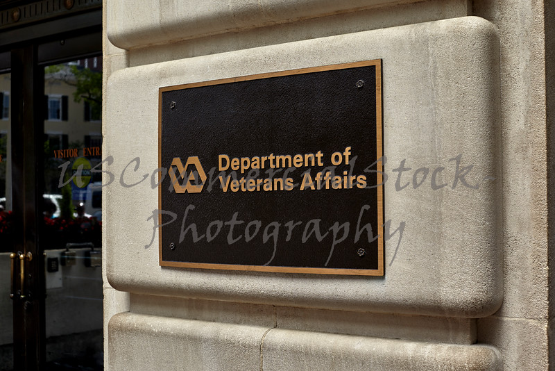 Department of Veterans Affairs Building Sign