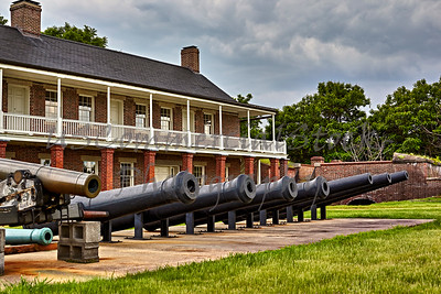 Cannon at Fort Washington