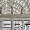 Ceiling Skylights inside Union Station
