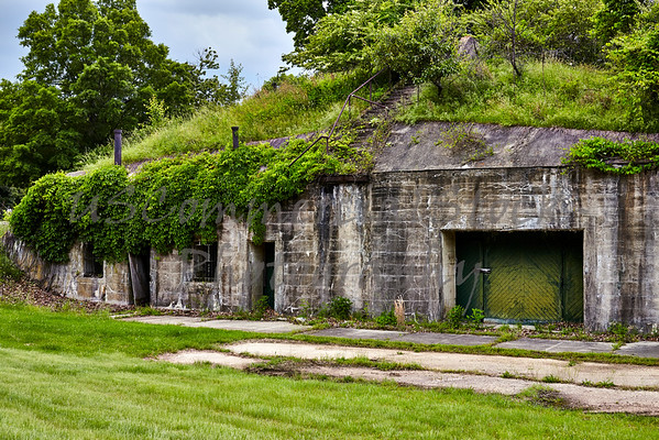 Mortar Battery Ruins at Ft. Washington Maryland