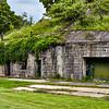 Mortar Battery Ruins at Ft. Washington Maryland
