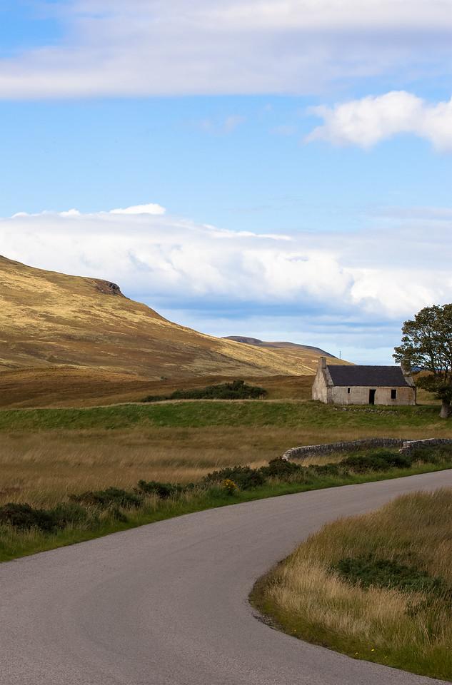 Top Gear Bothy, Loch Loyal, Scottish Highlands