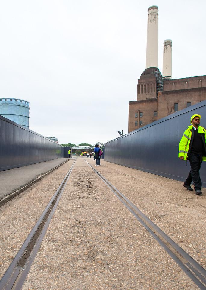 Tramlines, Battersea Power Station