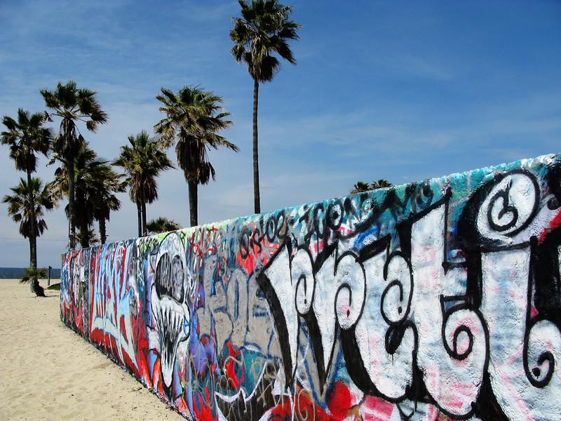 Venice Beach Graffiti Walls