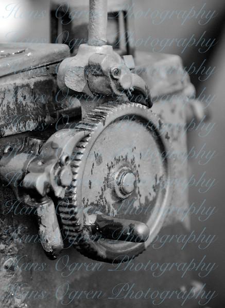 Old Gear B&W