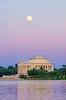 Thomas Jefferson Memorial Moonrise