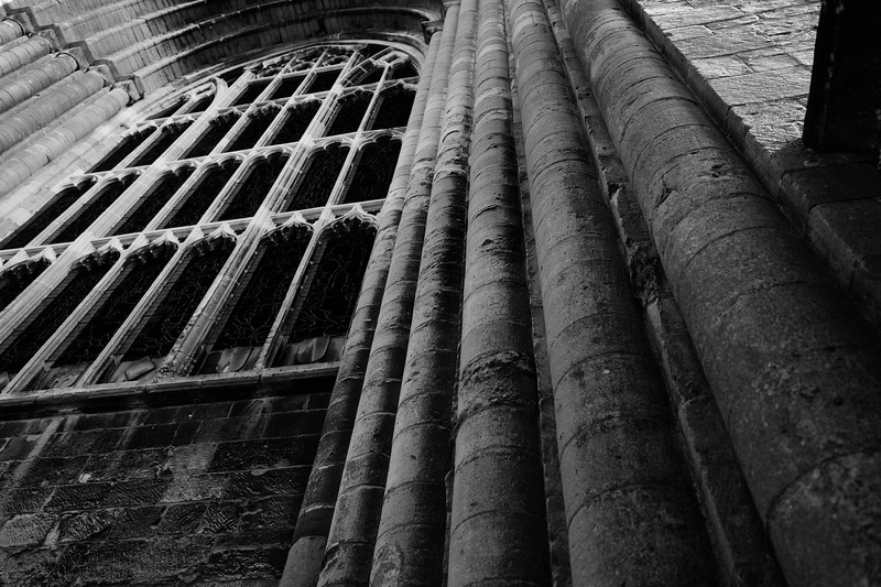Tewkesbury Abbey Stonework