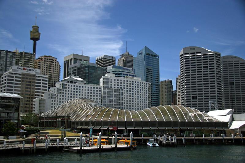 Darling Harbour, Sydney, Australia - January 2008