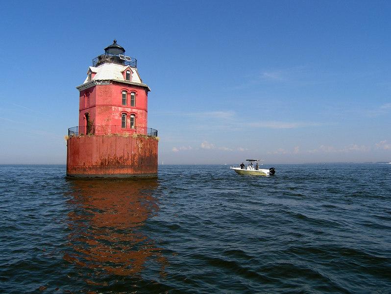 Lighthouse, Chesapeake Bay - October 2006
