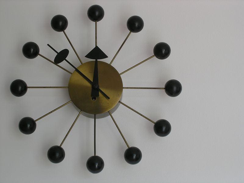 Ball Clock by George Nelson (p3250429)