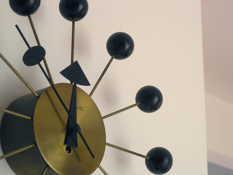 Ball Clock by George Nelson (p3240409-C)