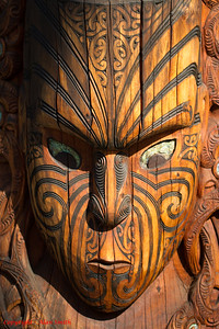 Maori Carving - New Zealand