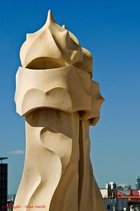 Gaudi sculpture