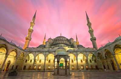 Blue Mosque Sunset, Istanbul
