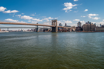 Scenic Brooklyn Bridge
