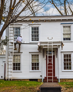 Painting Row Homes
