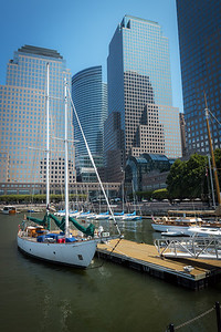 Skyscrapers and Boats