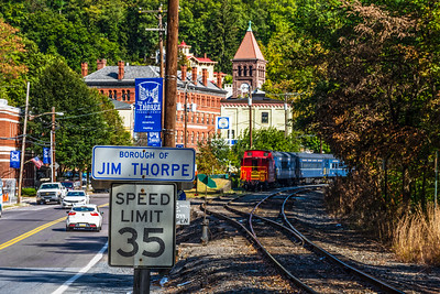 Signs Jim Thorpe