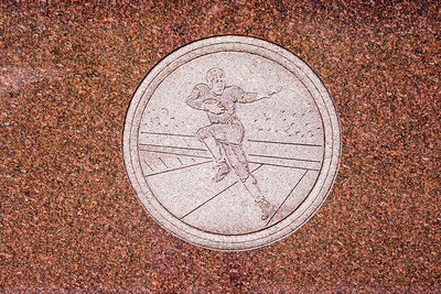 Jim Thorpe Grave Engavings Football