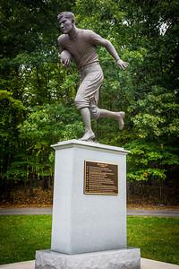 Jim Thorpe Football Statue