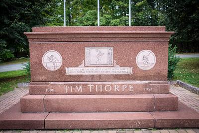 Jim Thorpe Grave Memorial