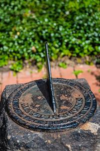 Old Sundial in Garden