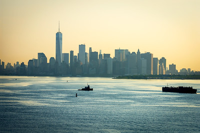 Hazy Morning Lower Manhattan