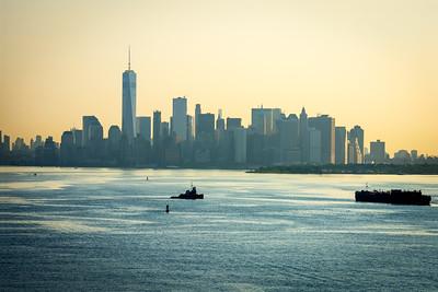 Hazy Morning Lower Manhattan