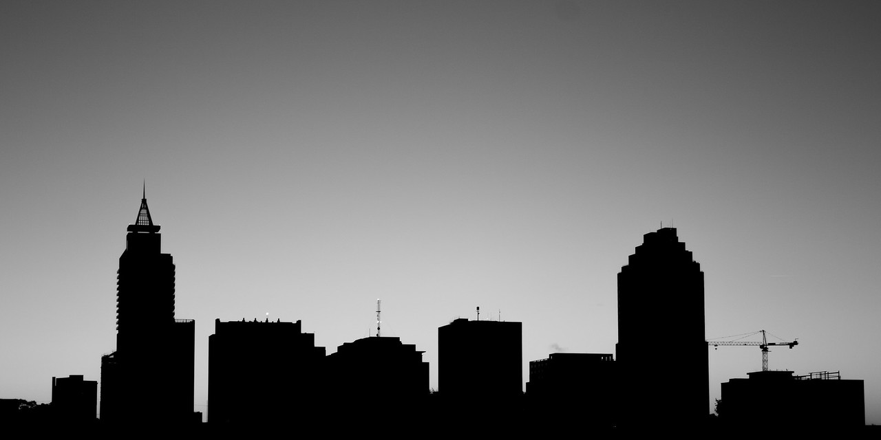 Monochrome over Raleigh