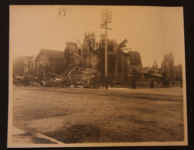 San Francisco 4/18/1906 after the earthquake and fire