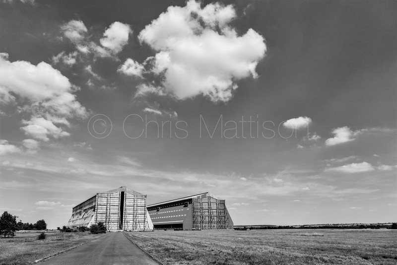 Airship hangars at Cardington, Bedfordshire
