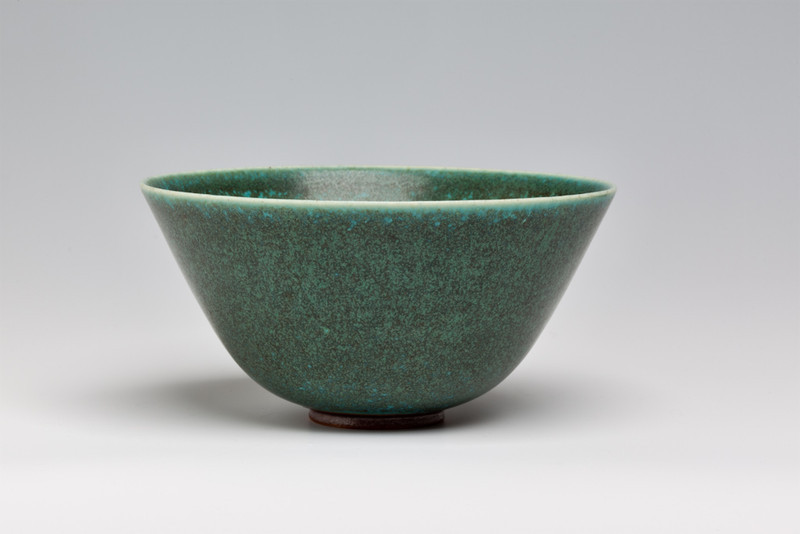 Studio bowl made by Saxbo Pottery, Denmark