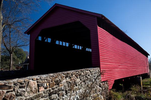 Red Covered Bridge