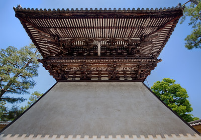 Overhanging Roof in Kyoto
