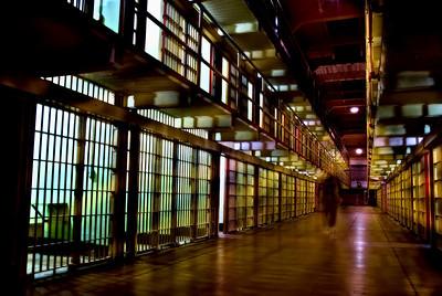 Alcatraz haunted cell block