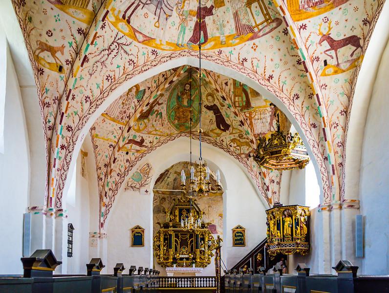 Elmelunde church, Denmark