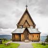 Reinli Stave Church near Aurdal, Norway