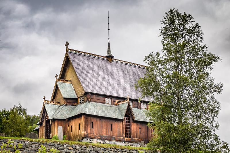 Reinli Stave Church, Vikings built in 12th century