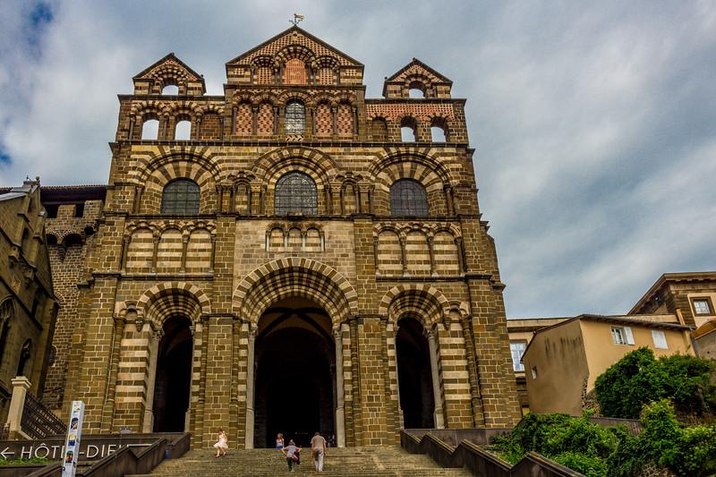 Le Puy France Notre Dame en Puy cathedral